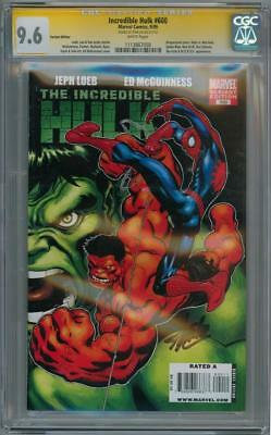 Incredible Hulk #600 Variant Cgc 9.6 Signature Series Stan Lee Marvel Movie