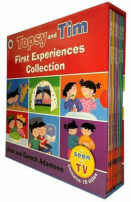 Topsy and Tim Series By Jean and Gareth Adanson Collection 10 Books Set NEW