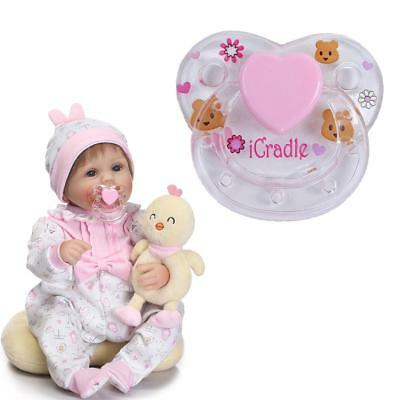 Pacifier Reborn Doll Supplies Dummy Pacifier Magnet For  toy Baby UK