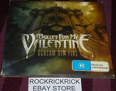 Bullet For My Valentine - Scream Aim Fire -2 Disc Set Cd & Dvd- Digipak