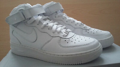 new styles 04387 831d6 Scarpe Sportive Nike Air Force1 Alte Bianche ...