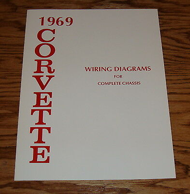 1969 chevrolet corvette wiring diagram for complete chassis 69 chevy