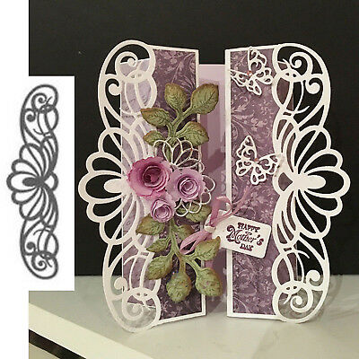 New Lace Border Metal Cutting Dies Cut Die Stencils Scrapbooking Paper Craft DIY