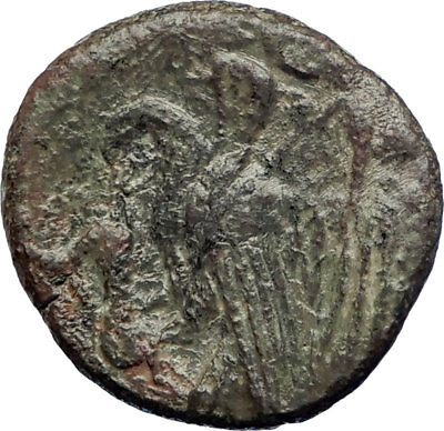 AKRAGAS Sicily Magistrate Silanos Pre Carthage War Ancient Greek Coin  i73354