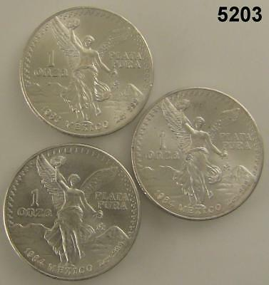 2014 Mexican Libertad 1 oz .999 Silver Coin Low Mintage Key Date 5925