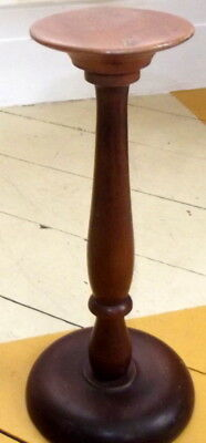 Antique Wood Hat Stand Wig Stand Handmade Barristers Judge Nice Patina