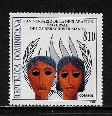 Dominican Rep #1298 Mint Never Hinged Stamp - Human Rights