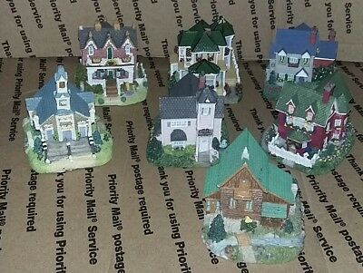 1997 Liberty Falls American Collection Assorted Village Figurines Lot X7-Look!