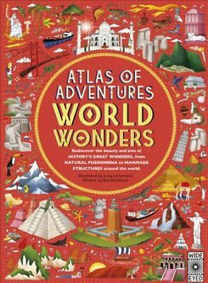 Atlas of Adventures: Wonders of the World by Lucy Letherland 9781786032171