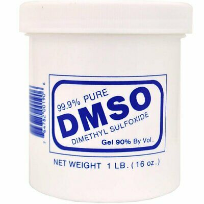 Valhoma DMSO Gel Pure 99% Dimethyl Sulfoxide Oil Liquid Based Pet First Aid 1lbs