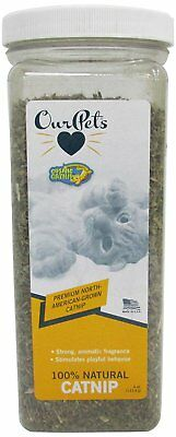 OurPets PREMIUM North-American Grown Catnip 4 oz Jar Cosmic Catnip for Cats