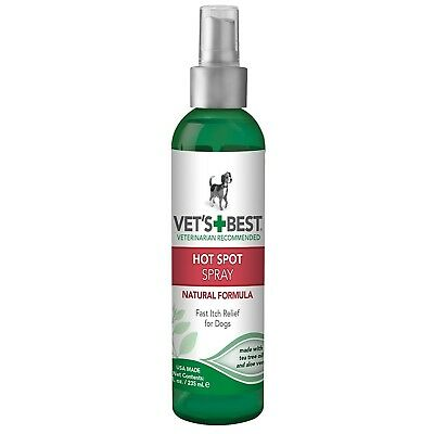 Vet's Best Natural Formula Hot Spot Spray Itch Relieffor Dogs 8 oz
