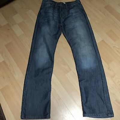 Mens Boys Levis 514 Slim Fit Straight Leg 18 Reg 29X29 29W 29L Medium Wash EUC