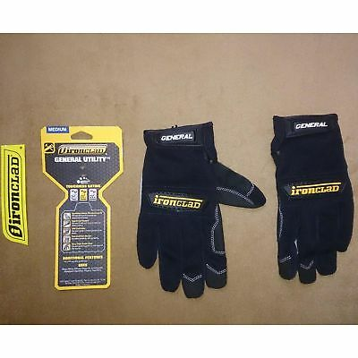 Men Winter Warm Gloves Waterproof Insulated Work Black Large Heavy Duty Grip