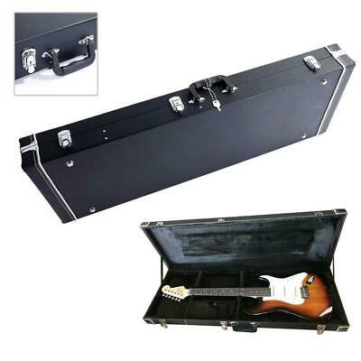 Glarry High Grade Electric Guitar Square Lockable wood hard case