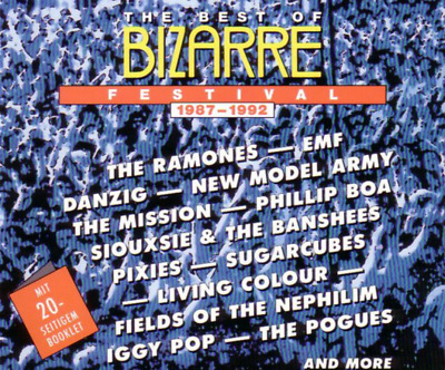 """THE BEST OF BIZARRE FESTIVAL 1987-1992"" 2-CD 34-Tracks German Import GREAT"
