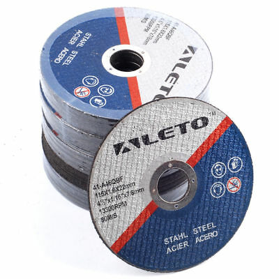 "115mm/4.5"" Angle Grinder Blade 50x  GERMAN ENGINEERED THIN METAL CUTTING DISC"