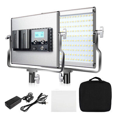 Dimmable LED Video Light Camera Light Lamp Panel for Shooting Studio Photography