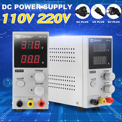 K3010D 30V 10A DC LCD Digital Power Supply Mini Switching Regulated Adjustable