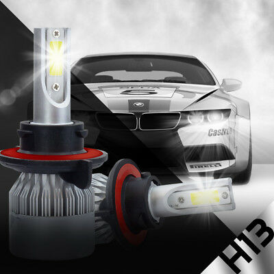 XENTEC LED HID Headlight Conversion kit H13 9008 6000K for 2004-2014 Ford F-150