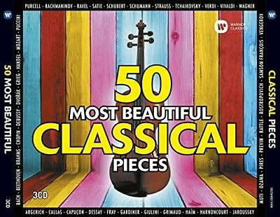 50 Most Beautiful Classical Pieces - Various Artists (NEW 3CD)