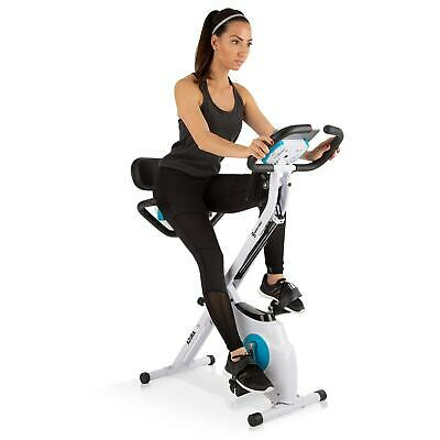 Cyclette Fitness Pieghevole Bicicletta Camera Workout Palestra Allenamento 3in1