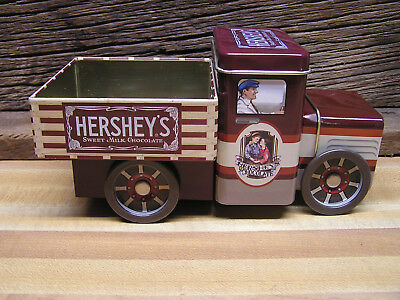 Hershey's Truck Tin Canister