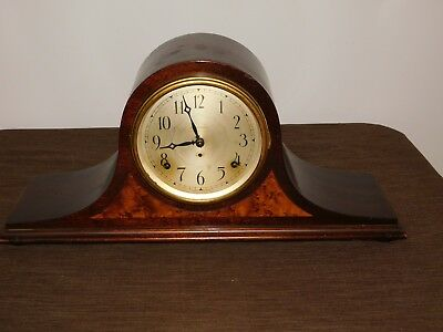 Vintage Seth Thomas 8 Day Sentinel Mantle Clock **for Parts Not Working**