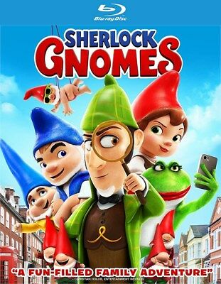 Sherlock Gnomes (Blu-ray Disc ONLY, 2018)