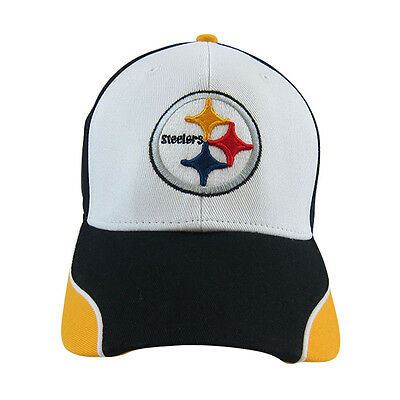 NFL Pittsburgh Steelers Embroidered Adjustable Hat Cap One Size Fit All 9b792ce39331