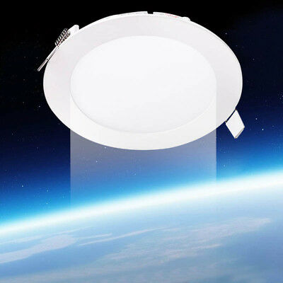 Ultra Slim 3W-24W LED Flat Panel Ceiling Light Recessed Lamp A23 Dimmable LAMP
