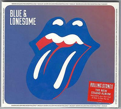 The Rolling Stones Blue & Lonesome Sealed Cd New