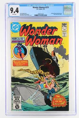 Wonder Woman #275 -NEAR MINT- 9.4 NM - DC 1981 - Huntress back-up story!!!