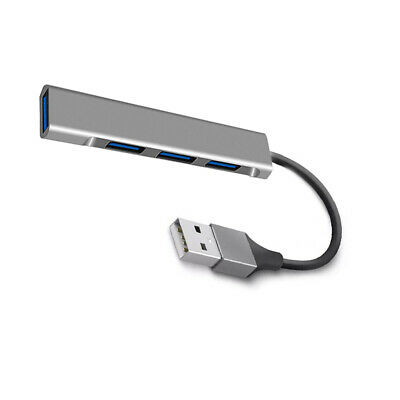 5Gbps Speed 4-Port USB 3.0 Portable Compact Hub Adapter For PC Laptop Gayly