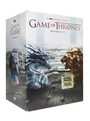 Game of Thrones: The Complete Seasons 1-7 (DVD 2017, 34-Disc Box Set)