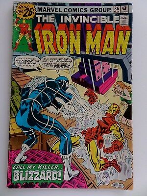 The Invincible Iron Man #86 (May 1976 Marvel)