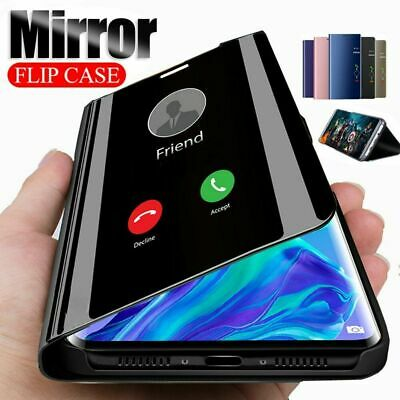 Case For Samsung Galaxy Phone Luxury Smart View Mirror Wallet Leather Flip Cover