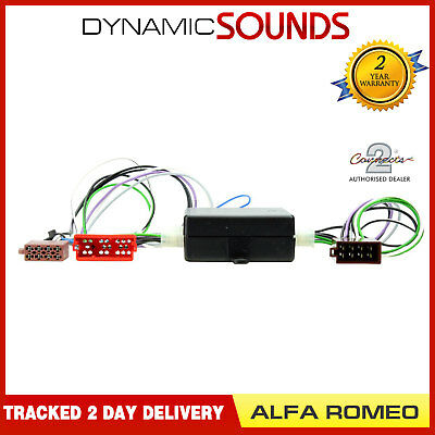 CT51-AR01 Front/Rear Amplified Bose Harness Adaptor for Alfa Romeo