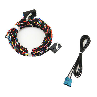Parking View Camera Reversing Trajectory Module Harness Cable For VW Audi Sokda