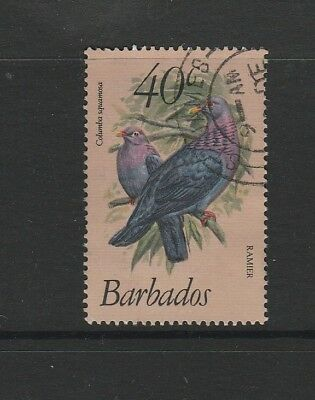 Barbados 1979 Bird defs 40c FU SG 631b, key value
