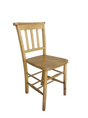 Reclaimed Church Chapel Chairs Without Bible Backs - Reclaimed Solid