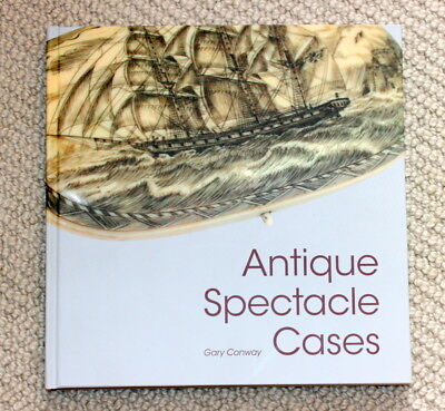 Antique Spectacle Cases Book, I Only Printed 300, Good Professional Reviews