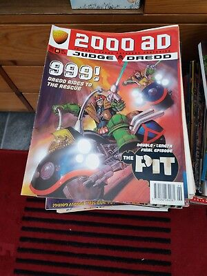 7.5Kg Of Judge Dredd Megazines From The 1990S
