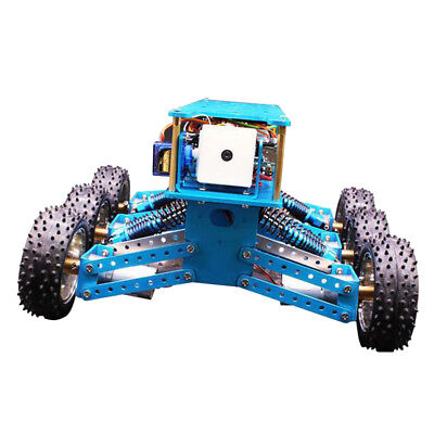 6WD Cross-Country Robot Car Kit Starter Bluetooth Multi Search and Rescue