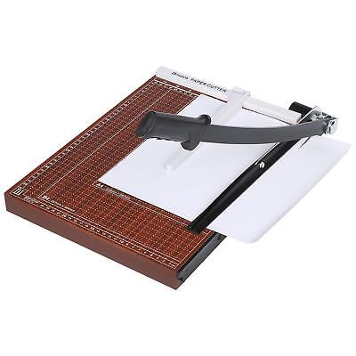 A3-B7 Paper Cutter Guillotine Trimmer 12 Sheets Commercial Heavy Duty Wooden US