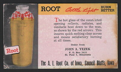 Ink Blotter - The A.i. Root Co. Of Iowa, Council Bluffs, Iowa