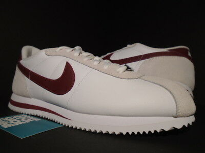 competitive price cb3fe e4afe 2014 NIKE CORTEZ Basic Leather '06 White Team Red Grey Burgundy 316418-109  10