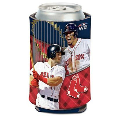 Boston Red Sox WinCraft 2018 World Series Champions 12oz. Players Can Cooler