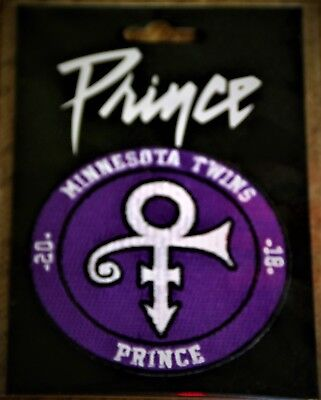 2018 Minnesota Twins 'prince' Patch - Only Available At Target Field - Brand New