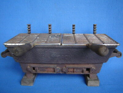 Vintage Original Hibachi ~ Cast Iron Table Top Grill ~ Bbq ~ Tailgate Barbecue